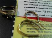 Gold-Diamond Scrap 35 Diamonds .35 Carat T.W. 10K Yellow Gold 6.5g